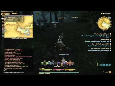 Final Fantasy XIV ARR PS4 BETA Test Odin FATE