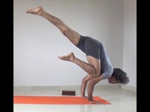 Eka Pada Bakasana | Flying Crow or Crane Yoga Pose | Arm Balance Challenge Week-7