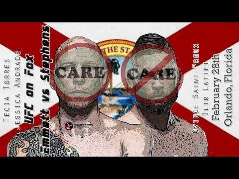 UFC on Fox: Emmett vs. Stephens Care/Don't Care Preview