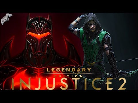 Injustice 2 - NEW EPIC GEAR LEAKED!
