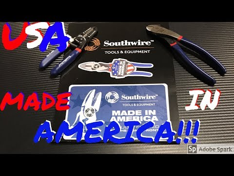 USA Made Pliers! Southwire Tools