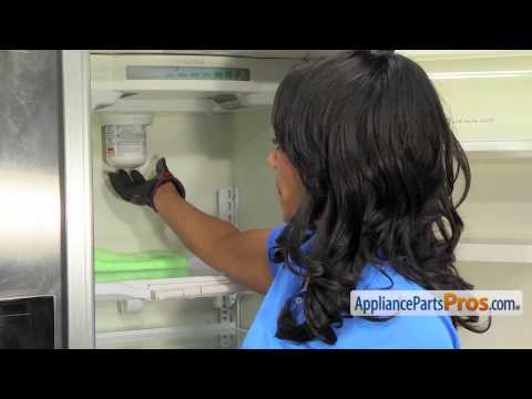 Refrigerator Water Filter (part #EDR7D1) - How To Replace