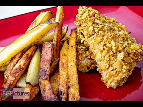HLO Healthy Eating Recipe Baked Fish And Chips