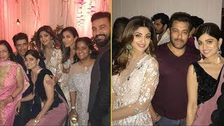 Bollywood Celebs Attend Arpita Khans 2017 Diwali Party Full Video