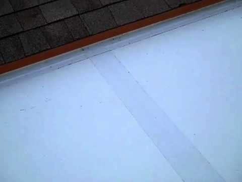 New Patio Screen Enclosure Installation -Pt. 3 (Roof Detail)