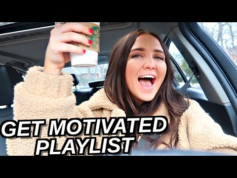 30 SONGS TO MOTIVATE YOU FOR 2018! Drive with Me! | Kenzie Elizabeth