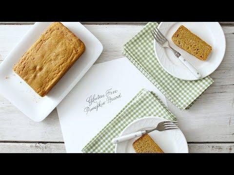 Nicely Spiced Gluten-Free Pumpkin Bread- Martha Stewart