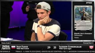Pro Tour Magic 2015 - Finals - Ivan Floch vs. Jackson Cunningham
