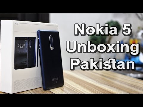 Nokia 5 Unboxing   First in Pakistan !