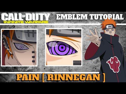 IW | PAIN [ RINNEGAN ] Emblem Tutorial | Infinite Warfare Emblem Tutorial #31