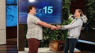 Jack Black Makes an Unexpected Visit to Ellen!