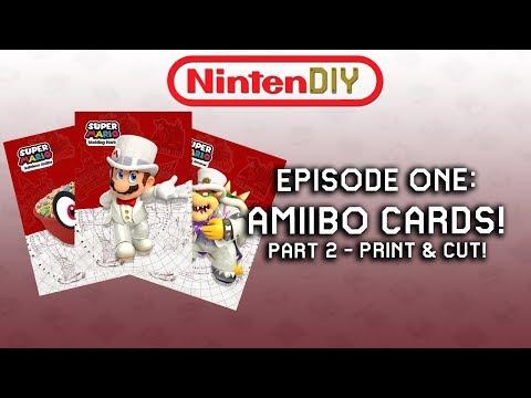 NINTENDIY - Episode One: Lets Make Amiibo Cards! (Part 2)