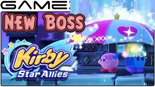Kirby Star Allies New Boss Revealed In Japanese Ads Gameplay