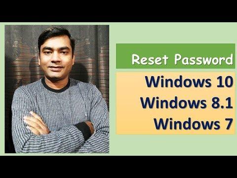 Reset Windows 10 password: I forgot windows 7 administrator password [2018]