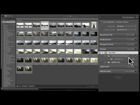 Mastering Lightroom Classic CC - 2: Importing