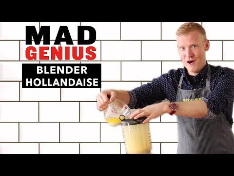 How to Make Blender Hollandaise   Food & Wine