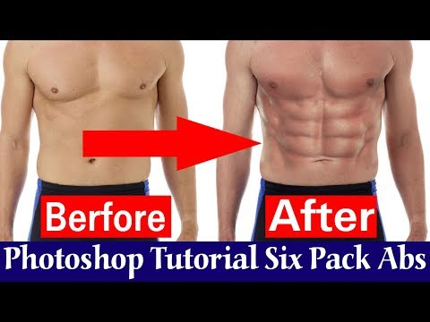 Photoshop Tutorial_ How to Quickly Create Awesome 6-pack ABS