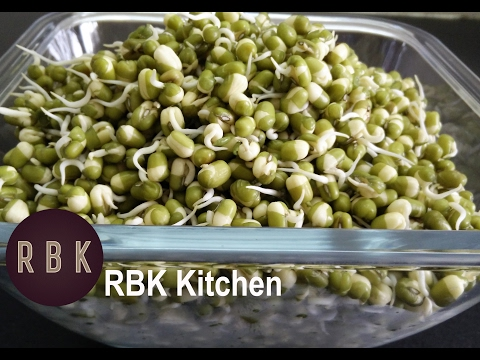 Sprouted moong recipe in Tamil    Green Gram  Dal Sprouts   ReCP-61