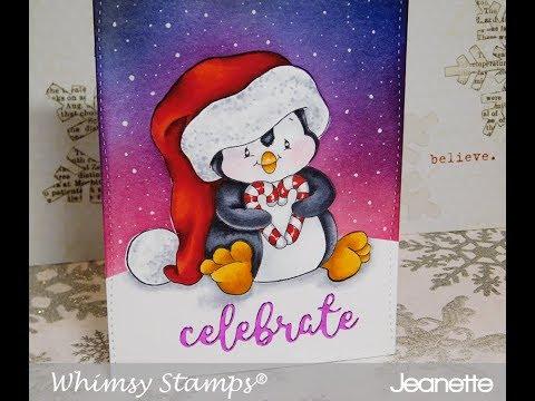 Christmas Series 2017 Day #3 Penguin Celebrates