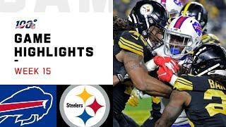 Bills vs. Steelers Week 15 Highlights | NFL 2019