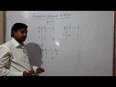 Galois Field {GF(2), GF(3), GF(5), GF(7)}