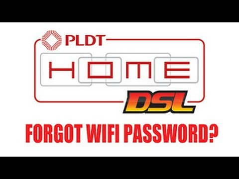 Forgot PLDT Home DSL Password?