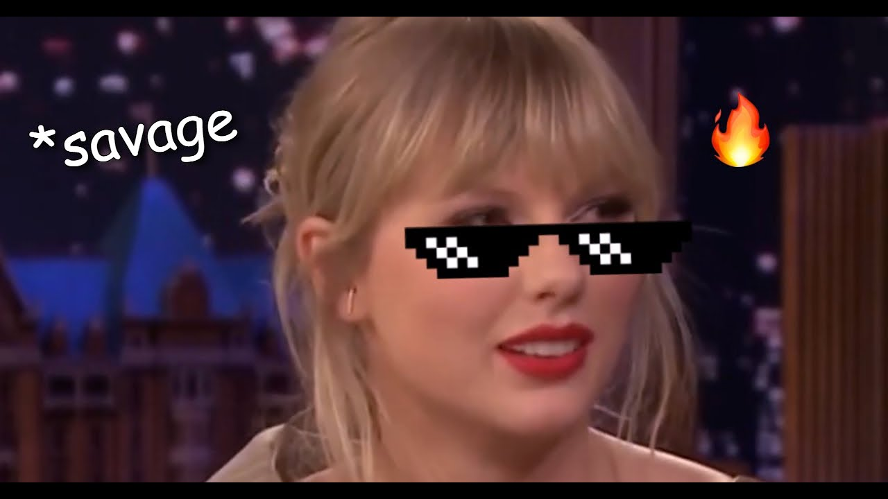 Taylor Swift SAVAGE and funny moments (ENG SUB)