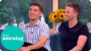 Hollyoaks Star Kieron and Husband Carl on Becoming Fathers to Surrogate Twins! | This Morning