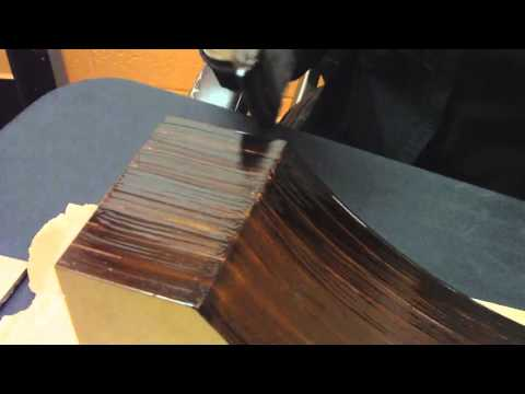 How to Stain a MDF Wood Corbel | Federal Brace