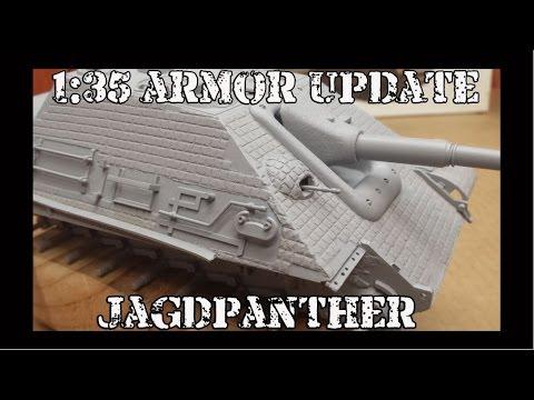 1:35 Armor Update:  Jagdpanther