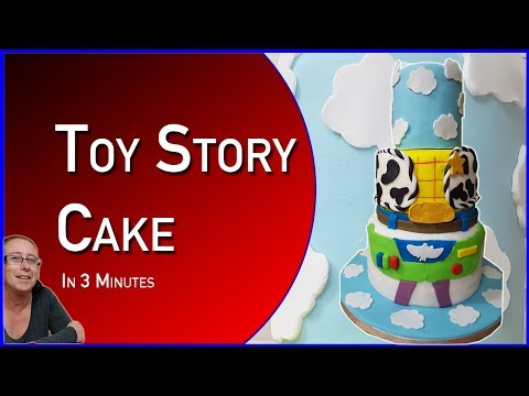 How To Make A Toy Story Cake In Under 3 Minutes - Cakes for Kids