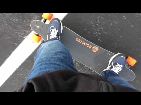 Boosted Board Tips - First Time Skateboarder