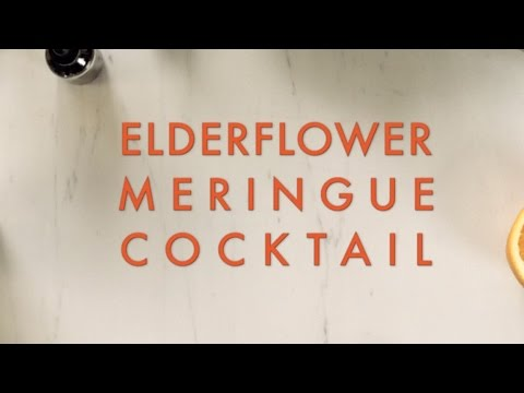 Elderflower Meringue Cocktail - FIXATE™