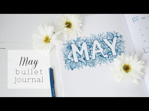 PLAN WITH ME | May 2018 Bullet Journal