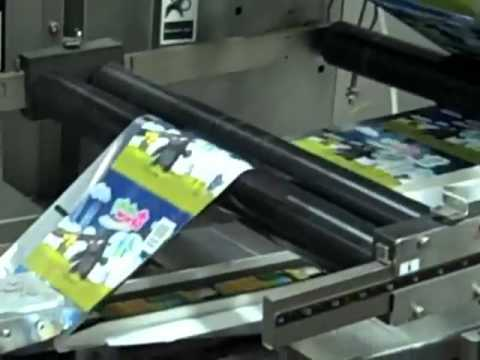 How a Trading Card Pack is Produced