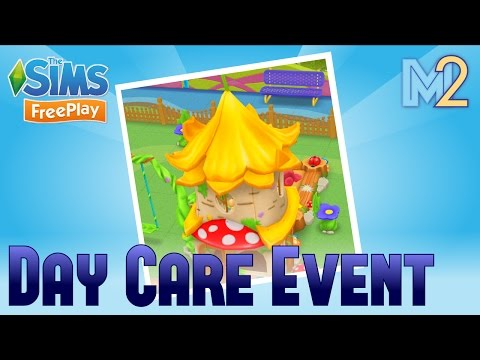 Sims FreePlay - Day Care Event Prizes & Toddler Playground Template