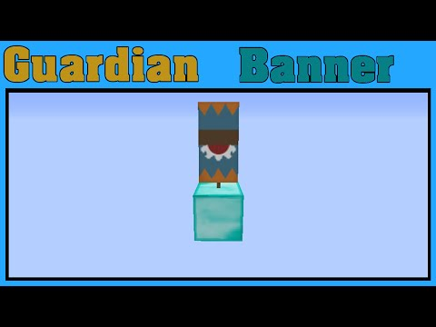 Minecraft Guardian Banner Tutorial