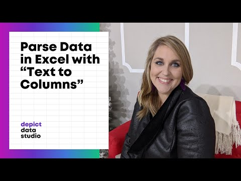 How to Parse Data in Excel with the