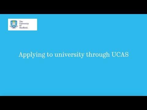 Applying to university through UCAS