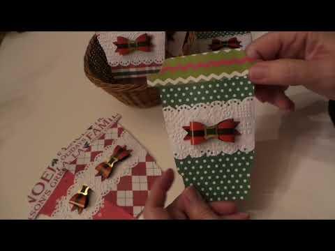 Craft Fair Idea: Coffee Cup Die cut Gift Card Holders & Swap