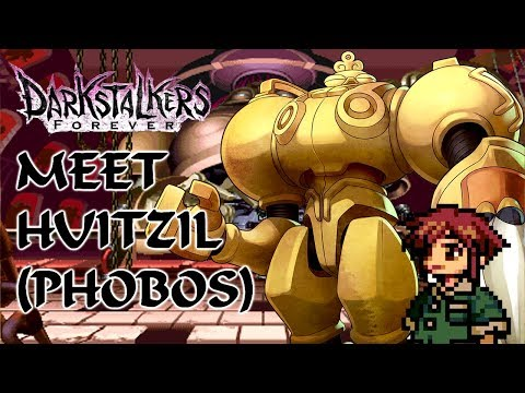 Meet the Darkstalkers: Huitzil (Phobos) - The Nostalgic Gamer