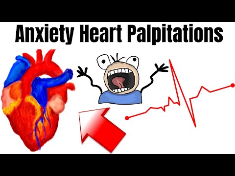 Heart Palpitation Symptoms Caused By Anxiety (SCARY FEELING)