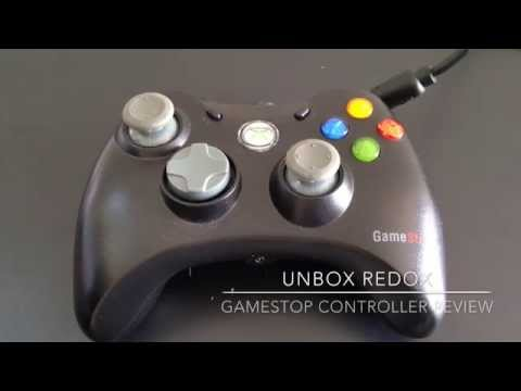 Gamestop Xbox 360 Wired Controlloer Short Review | Unbox Redox