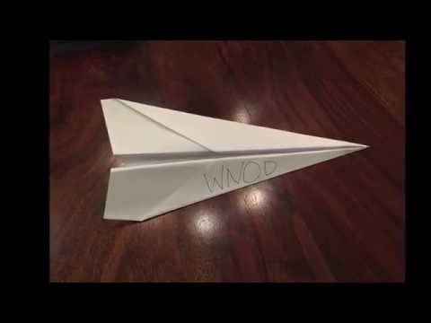 How to Make the Farthest Flying Paper Airplane in the World