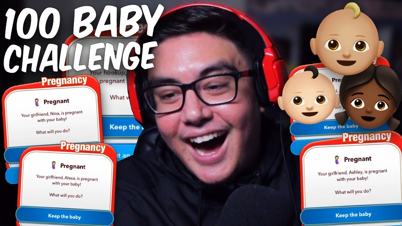 I THINK WE BROKE A RECORD WITH THIS 100 BABY CHALLENGE IN BITLIFE   Bitlife ( Life Simulator)