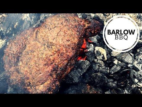 Caveman Ribeye Steaks | Campfire Cooking Recipe