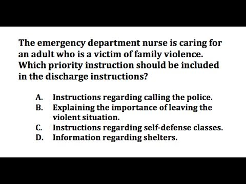 NCLEX-RN Review: Questions 37-39 (with Answer and Explanation)