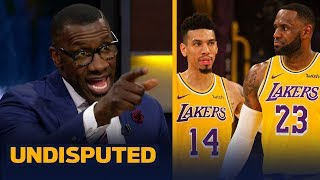 Shannon Sharpe reacts to Danny Green