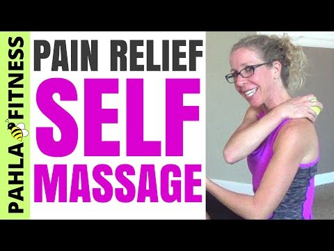 How to RELIEVE MUSCLE TENSION with a Tennis Ball | Full Length RECOVERY Massage for Sore Muscles
