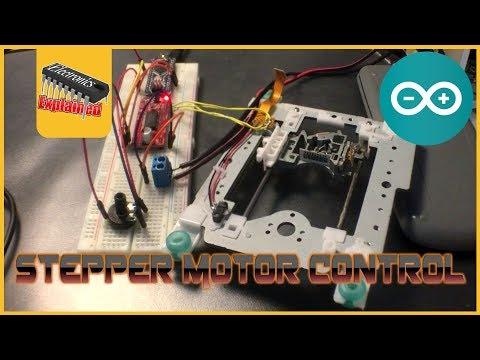 Do NOT Throw Away Your DVD Drives! - Arduino Stepper Motor control